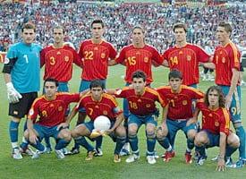 Lotul Spaniei pentru Campionatul European