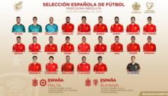 Lotul Spaniei pentru partida decisiva cu Romania din preliminariile EURO 2020