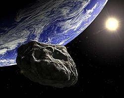 Loveste Pamantul cu un asteroid!