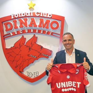 Lovitura de palat la Dinamo: Cortacero a fost inlaturat