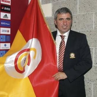 Lovitura de teatru: Hagi, antrenor la Galatasaray?