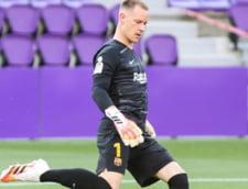 Lovitura pentru FC Barcelona. Portarul german Ter Stegen nu va putea juca in derby-ul cu Real Madrid