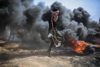 Lovituri ale armatei israeliene în Fâșia Gaza ca răspuns la lansarea unor baloane incendiare spre teritoriul său