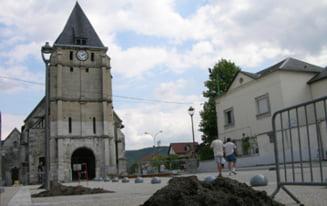 Luare de ostatici intr-o biserica din Franta: Atacatorii au strigat Statul Islamic si i-au taiat gatul preotului - UPDATE