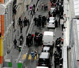 Luare de ostatici intr-o cladire din Paris UPDATE Agresorul a fost retinut