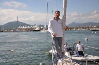 Lucian Mandruta si-a rupt o coasta la iahting