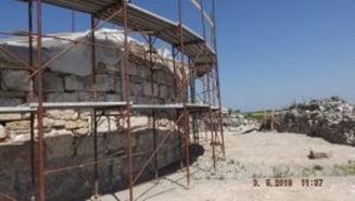 Lucrari de amenajare arhitecturala si peisagera a sitului arheologic Cetatea Turnu