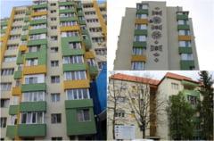 """Lucrari de reabilitare finalizate la blocul """"Gulliver"""" din Zalau"""