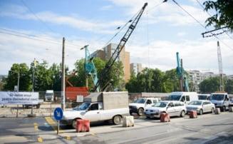 Lucrari la Magistrala 4 de metrou: Tramvaie si troleibuze suspendate - vezi zonele afectate