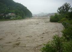 Lucrari pentru prevenirea inundatiilor de pe Trotus