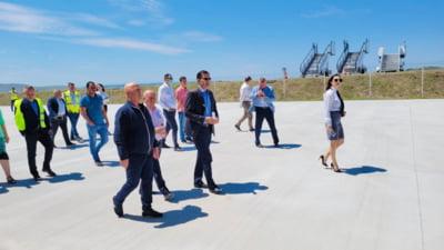 """Lucrarile de la Aeroportul """"Delta Dunarii"""" au fost finalizate. Cand vor incepe zborurile pentru turisti"""