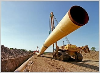Lucrarile din Romania la gazoductul Iasi-Ungheni, incheiate. Intra in scena Transgaz