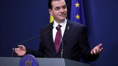 Ludovic Orban: Declaratiile fostului ministru Voiculescu imi arata, o data in plus, ca premierul a luat o decizie corecta