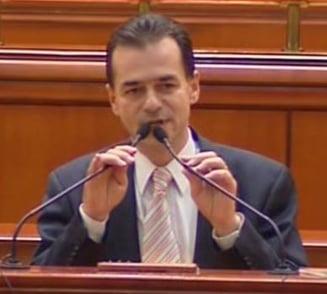 Ludovic Orban, noul vicepresedinte al Camerei
