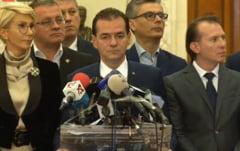 Ludovic Orban si-a prezentat Cabinetul si a depus programul de guvernare la Parlament: Va face audit intern si extern la ministere