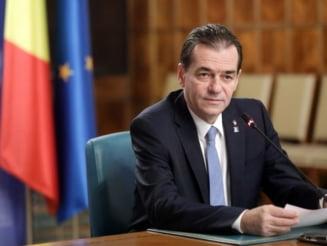 Ludovic Orban va depune, luni, la Parlament, programul de guvernare actualizat si lista de ministri