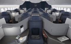 Lufthansa isi upgradeaza locurile in avion: scaune ca niste tronuri