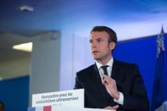 Lui Macron nu-i convine ce au stabilit Trump si Juncker in zona economica