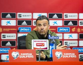 Luis Enrique si-a prezentat demisia din functia de selectioner al Spaniei, inaintea meciului cu Romania