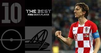 Luka Modric, fotbalistul anului la gala FIFA The Best
