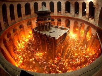 Lumina Sfanta a Invierii, de la Ierusalim in toate tarile crestine - o traditie de un mileniu