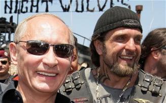 Lupii Noptii, motociclistii lui Putin, gata sa intervina in Ucraina (Foto)