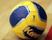 Lupta acerba in campionatul intern de handbal masculin