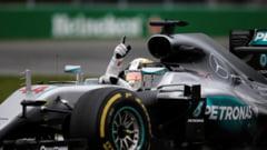Lupta continua in Formula 1! Hamilton i-a luat fata lui Rosberg in calificarile din SUA