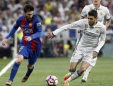 Lupta de foc intre Barcelona si Real Madrid