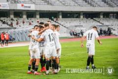 Lupta incinsa la promovare in Liga 2. Egal intre U Cluj si Chiajna