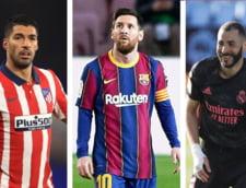 Lupta la titlu in Spania: cu cine mai au de jucat Atletico, Real Madrid si Barcelona ANALIZA