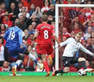 Lupta nebuna pentru titlu in Premier League: Chelsea castiga la Liverpool