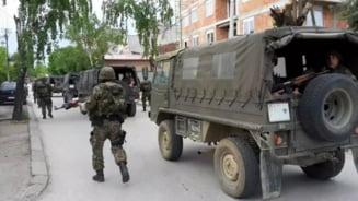 Lupte grele in Macedonia: Orasul care arata ca o zona de razboi