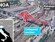 MAE: Unul dintre romanii declarati morti dupa prabusirea autostrazii din Italia este in viata