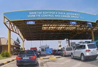 MAE avertizeaza soferii ca vor astepta mai mult sa treaca granita cu Bulgaria, din cauza unui nou sistem de taxare rutiera