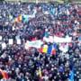 MARE MITING IN MIOVENI - CAEsI OAMENI SUNT ASTEPTAEsI LA PROTEST