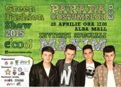 "MARTI: Parada ""Green Fashion Show"" la Alba Iulia. Liceenii prezinta creatiile de moda din materiale reciclabile, in cadrul campaniei ECOol"