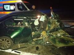 MOMENTE DE GROAZA - Accident mortal la iesirea din Campulung Moldovenesc spre Suceava
