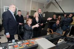 MS Margareta si Radu Duda au prezentat stiri la TVR (Galerie foto)