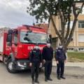 Mașina de pompieri trimisă preventiv în curtea spitalului COVID din Timișoara a fost chemată înapoi. Ce motive de răzgândire invocă șefii ISU