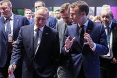 Macron a discutat cu Putin despre Siria