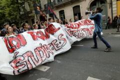 Macron a luat prima decizie economica majora: A aprobat reforma muncii, care a provocat proteste violente