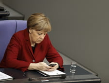 Macron a vorbit la telefon cu Angela Merkel si urmeaza sa mearga la Berlin