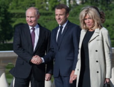 Macron anunta ca Franta si Rusia trebuie sa lucreze impreuna in Siria si Iran, dupa ce s-a vazut cu Putin si au semnat 50 de contracte