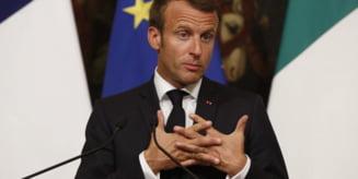 "Macron condamna ,,responsabilitatea istorica si penala"" a Turciei in Libia"