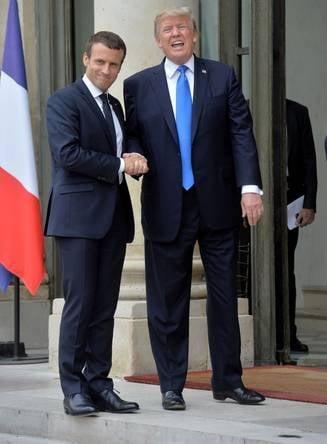 Macron este primul lider strain pe care Trump il primeste in vizita de stat la Casa Alba, un gest cu incarcatura simbolica