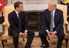 Macron il avertizeaza pe Trump sa nu iasa din acordul nuclear: Am deschide cutia Pandorei. Ar putea incepe un razboi