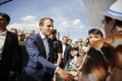 Macron il primeste pe noul presedinte al Ucrainei