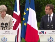 Macron insista ca Marea Britanie sa renunte la Brexit: Ne-ar bucura