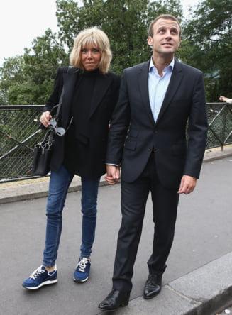 Macron raspunde comentariilor legate de diferenta de varsta dintre el si sotie: Oamenii au pierdut simtul realitatii